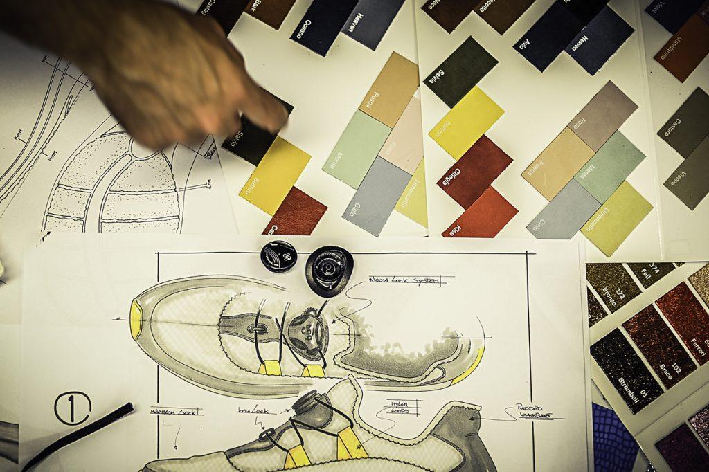 Voorstel materialen schoenen