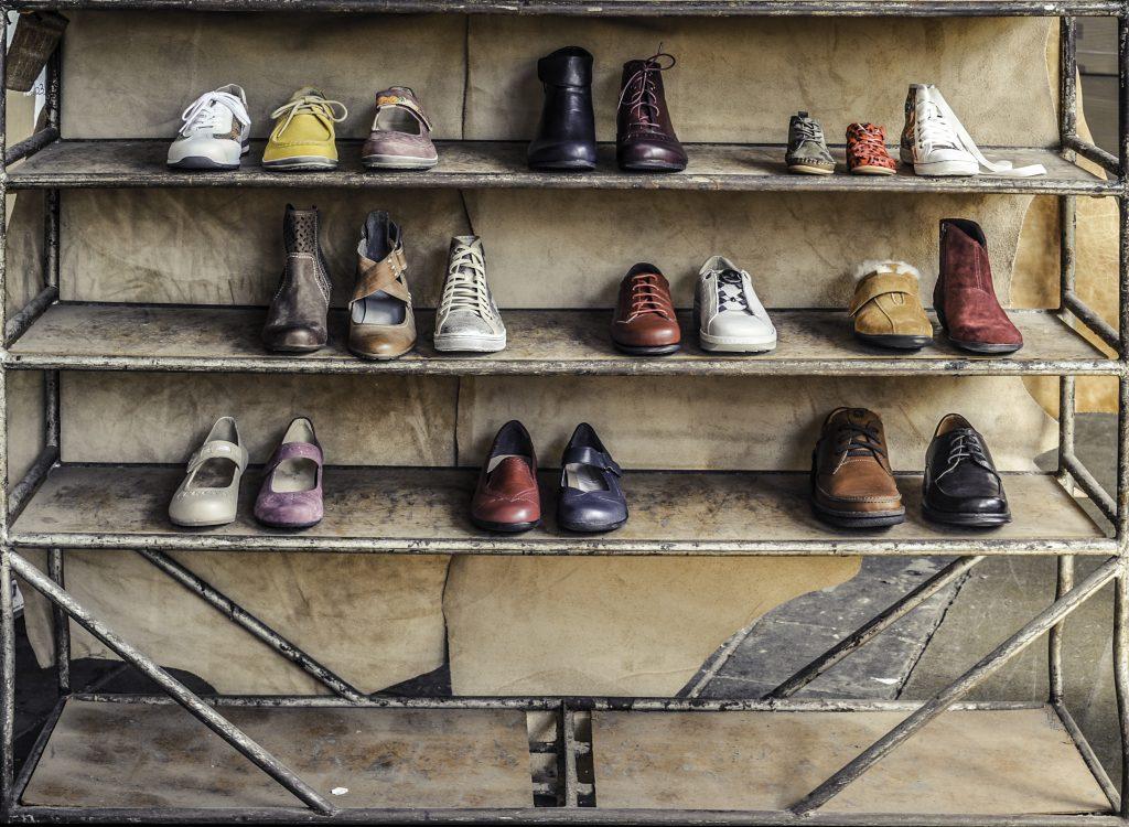 Gerecyclede schoenen