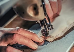 het produceren van duurzame schoenen